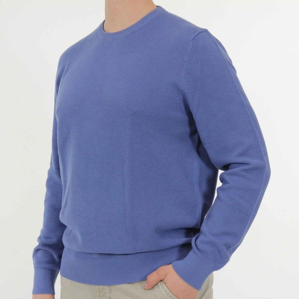 Basic Strickpullover, O-Neck